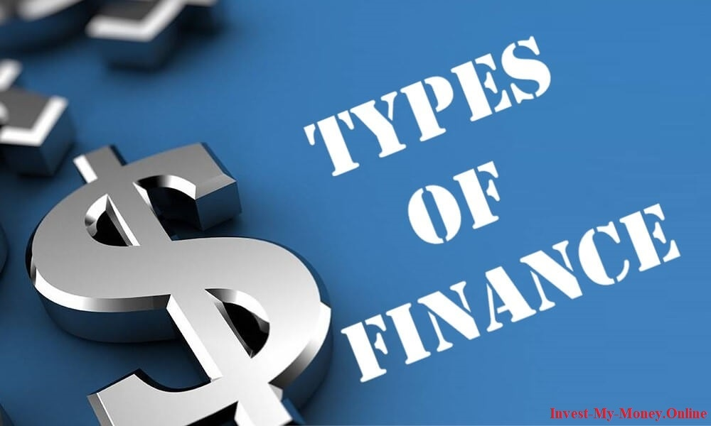 Main Types Of Finance