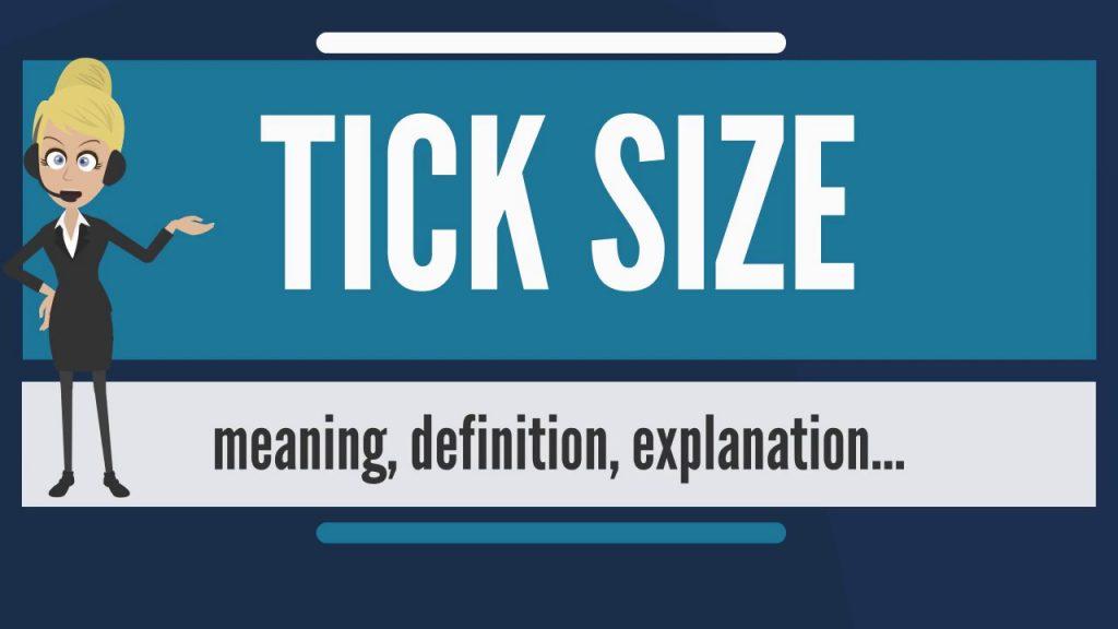 Tick Sizes In Financial Markets