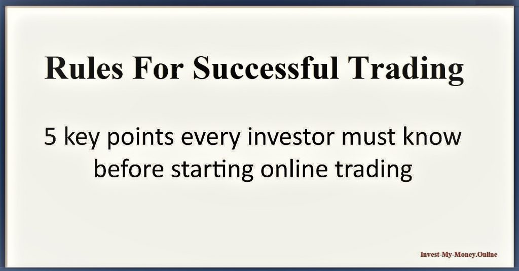 Things to Consider Before Trading