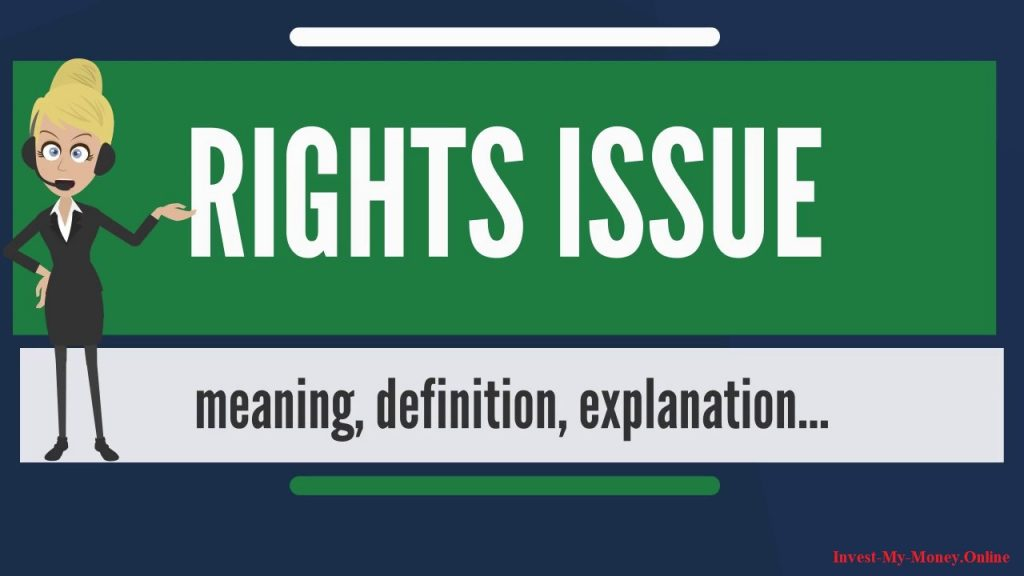 Rights Issue Of Shares With Advantages And Disadvantages